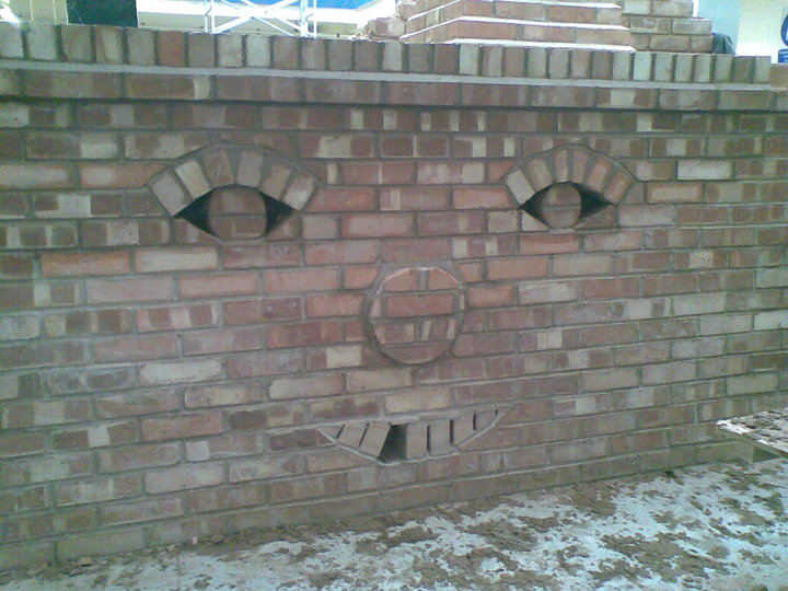 Brick Face Work - Craft  work by Paul Ludgate