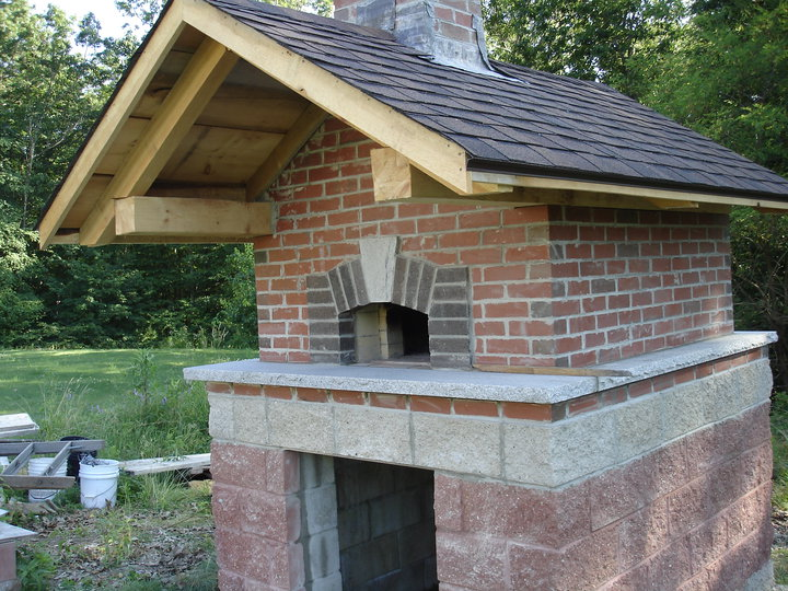 Outdoor Masonry Brick Oven