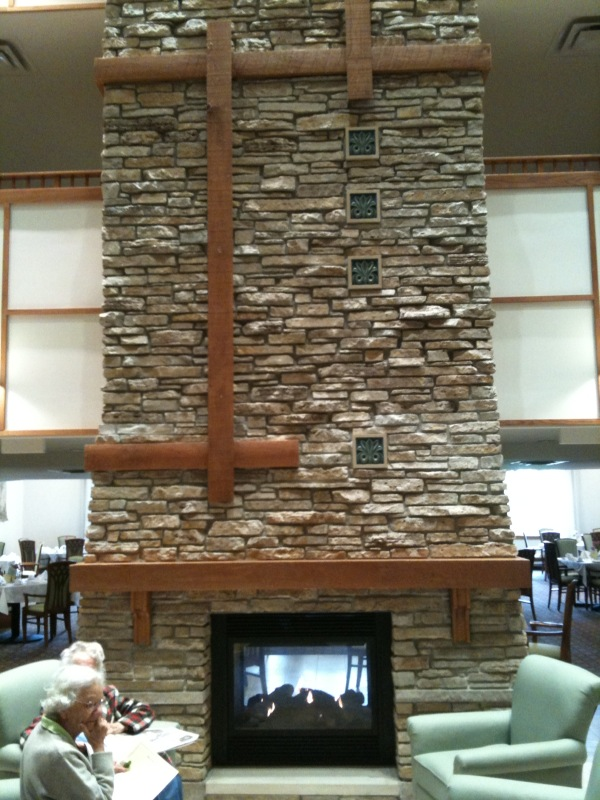 Natural Stone For Fireplace hand cut natural stone interior fireplace – trowel trades