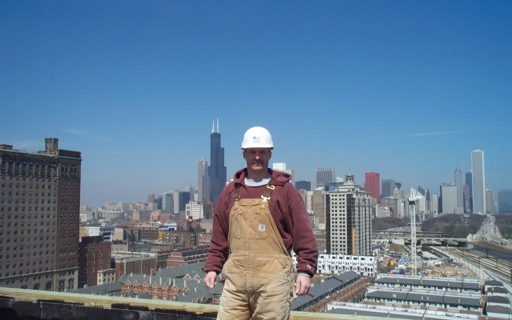 Douglas Morris Chicago and Wisconsin Bricklayer
